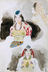 From the Moroccan Sketchbook, 1832 by Eugene Delacroix