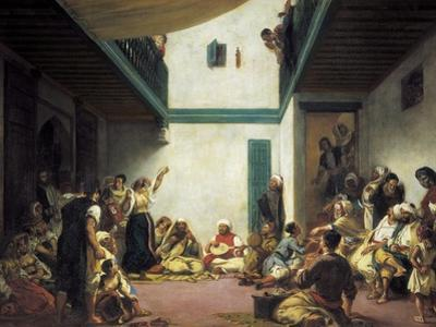Jewish Wedding in Morocco by Eugene Delacroix