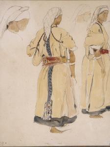 Juive d'Afrique du Nord ou Juive d'Alger by Eugene Delacroix
