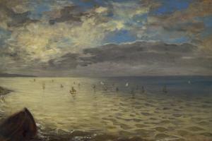 La Mer de Dieppe by Eugene Delacroix