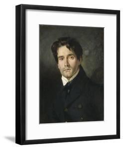Léon Riesener, peintre cousin de l'artiste by Eugene Delacroix