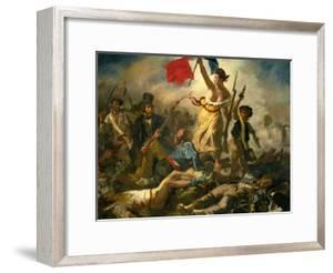 Liberty Leading the People, 1830 by Eugene Delacroix