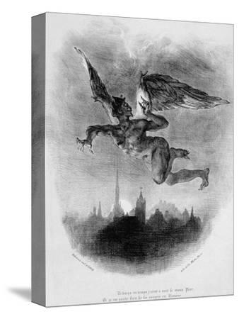 Mephistopheles' Prologue in the Sky, from Goethe's Faust, 1828