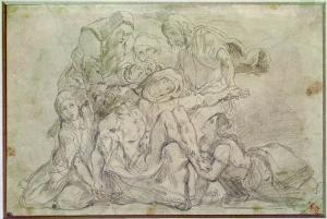 Pieta by Eugene Delacroix
