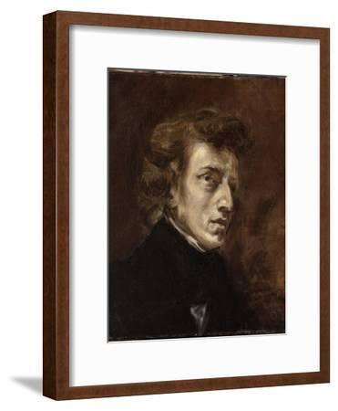 Portrait de Frédéric Chopin (1810-1849), musicien