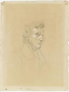 Portrait de Frédéric Chopin by Eugene Delacroix