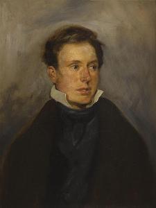 Portrait de Thalès Fielding by Eugene Delacroix