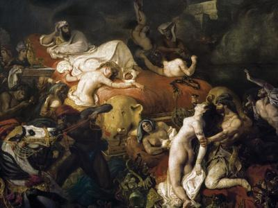 The Death of Sardanapalus