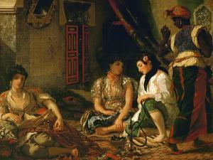 The Women of Algiers (In their Apartment), 1834 by Eugene Delacroix