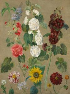 Untitled (Flowers) by Eugene Delacroix