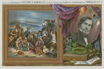 Eugene Delacroix--Giclee Print