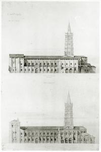 Basilica of St. Sernin, Toulouse by Eugene Emmanuel Viollet-le-Duc