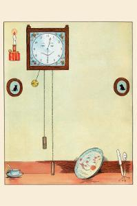 Clock and Plate by Eugene Field