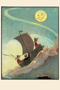 Sailing the Wooden Shoe by Moonlight by Eugene Field