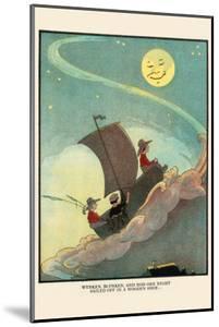 Wynken, Blynken, and Nod Sailed Off In a Wooden Shoe by Eugene Field