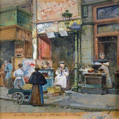 The Snail Seller by Eugene Galien-Laloue