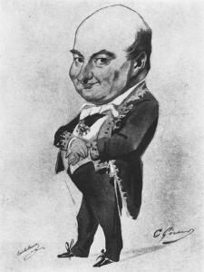 Charles Augustin Sainte-Beuve by Eugene Giraud