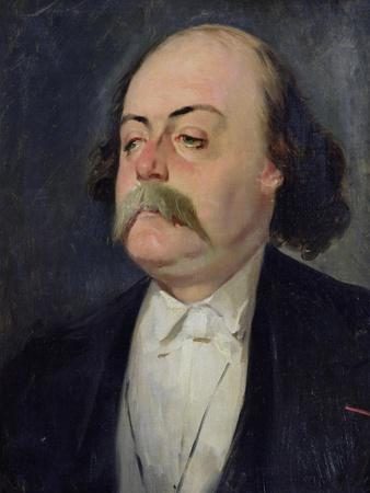 Portrait of Gustave Flaubert (1821-80) 1868-81