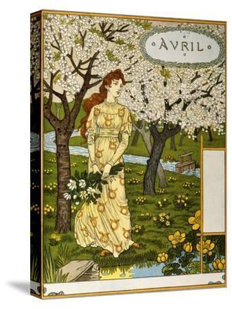 April, Illustration from the Fine Art Portofolio 'Le Mois', 1896