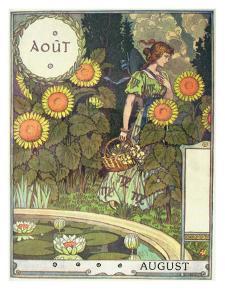 August by Eugene Grasset