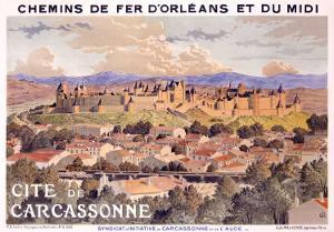 Cite de Carcassone by Eugene Grasset