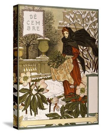 December, Illustration from the Fine Art Portofolio 'Le Mois', 1896