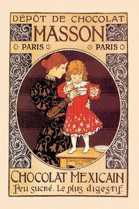 Depot de Chocolat Masson: Chocolat Mexicain by Eugene Grasset