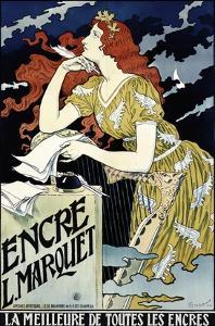 Encre L Marquet by Eugene Grasset