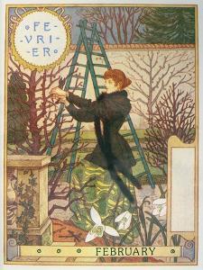February by Eugene Grasset