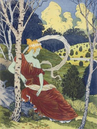 In the Woods, from 'L'Estampe Moderne', Published Paris 1897-99