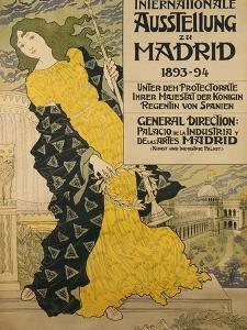 Internationale Ausstellung Zu Madrid, 1893 by Eugene Grasset