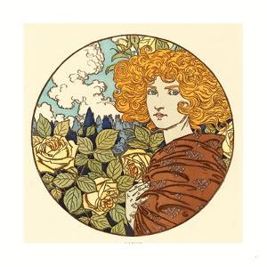 Jalousie (Jealousy), French, 1841 1917 by Eugene Grasset