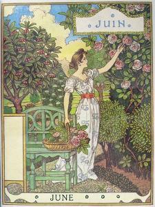June by Eugene Grasset