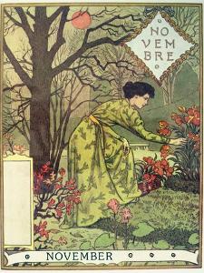 November by Eugene Grasset