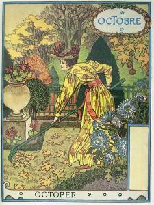 October by Eugene Grasset