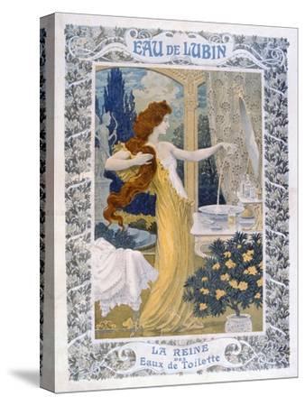 Poster Advertising 'Eau De Lubin', C.1900