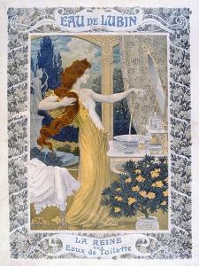 Poster Advertising 'Eau De Lubin', C.1900 by Eugene Grasset
