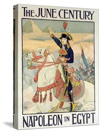 Poster for the Century Magazine - 'Napoleon in Egypt', 1895