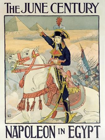 Poster for the Century Magazine - 'Napoleon in Egypt', 1895