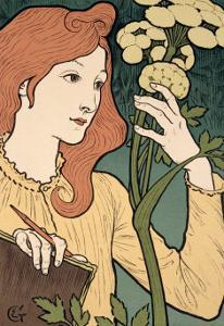 Reproduction of a Poster Advertising an Exhibition of Work by Eugene Grasset by Eugene Grasset