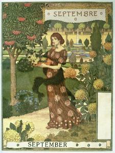 September by Eugene Grasset
