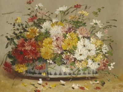 Bowl of Summer Flowers