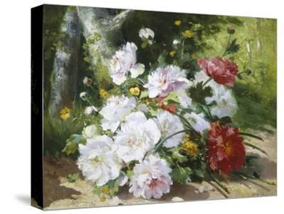 Still Life of Mixed Summer Flowers