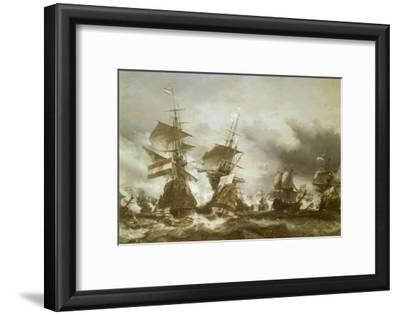 Combat du Texel le 29 juin 1694, victoire de Jean Bart sur l'escadre hollandaise de l'amiral de