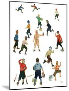 """Home Run,""April 26, 1930 by Eugene Iverd"