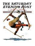 """""""Football Hero,""""November 17, 1934-Eugene Iverd-Giclee Print"""
