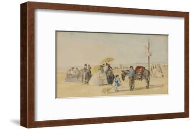 On the Beach; Sur La Plage, 1866