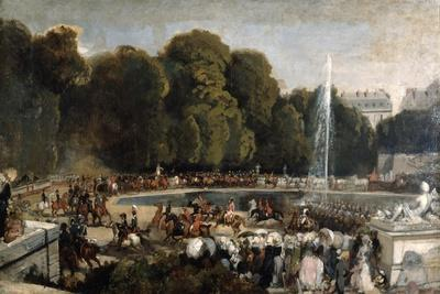 Entry of the Duchess of Orleans in the Garden of Tuileries, 1841