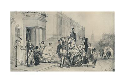 'In Eaton Square, 1850', (1920)