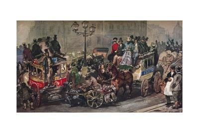 'Traffic Trouble in 50', 19th century